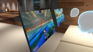Full PC Desktop in VR using 'BigScreen' Steam.com VR Porn Blog virtual reality
