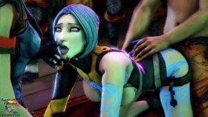 Maya Does The Siren Swallow Challenge CGI Girl DarkDreams vr porn video vrporn.com virtual reality