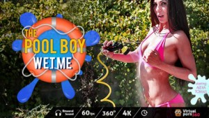 The Pool Boy Wet Me VirtualPorn360 Alexa Tomas Joel Tomas vr porn video vrporn.com virtual reality