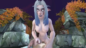 World of Warcraft - Night Elf's Afternoon Hike darkdream cgi girl vr porn video vrporn.comv virtual reality