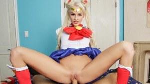 Sailor Moon A XXX Parody VRCosplayX Emma Hix vr porn video vrporn.com virtual reality