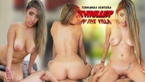 Thriller in the Villa Fernanda Ventura VRLatina vr porn video vrporn.com virtual reality