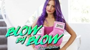 Blow By Blow BaDoinkVR Yurizan Beltran vr porn video vrporn.com virtual reality