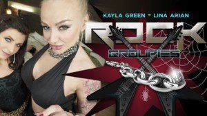 Rock Groupies POV RealityLovers Kayla Green Lina Arian vr porn video vrporn.com virtual reality