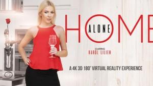 Home Alone VRBangers Karol Lilien vr porn video vrporn.com virtual reality