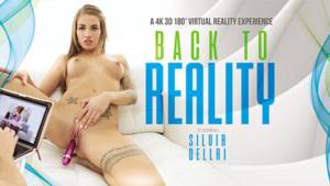 Back To Reality VRBangers Silvia Dellai vr porn video vrporn.com virtual reality