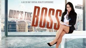 Who's The Boss Vrbangers Morgan Lee vr porn video vrporn.com virtual reality