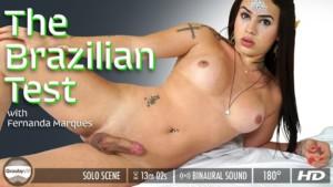 Fernanda Marques in The Brazilian Test GroobyVR Fernanda Marques vr porn video vrporn.com virtual reality