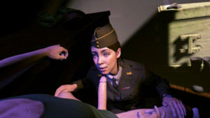 Call of Duty - Corporal Green's Making Her Rounds DarkDreams vr porn video vrporn.com virtual reality