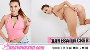 117-3DVR-180-SBS BravoModel Vanessa Decker vr porn video vrporn.com virtual reality