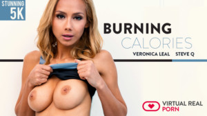 Burning Calories VirtualRealPorn Veronica Leal vr porn video vrporn.com virtual reality