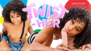 Twist-HER VR Bangers Misty Stone vr porn video vrporn.com virtual reality