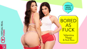 Bored As Fuck VirtualRealPorn Valentina Nappi vr porn video vrporn.com virtual reality