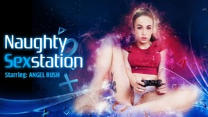 Naughty Sex Station VRPFilms Angel Rush vr porn video vrporn.com virtual reality