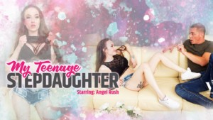 My Teenage Stepdaughter VRPFilms Angel Rush vr porn video vrporn.com virtual reality