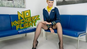 No Knickers Fflight WankitNowVR Ariel Andersson vr porn video vrporn.com virtual reality