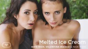 Melted Ice Cream VirtualRealPorn Kate Rich Valentina Bianco vr porn video vrporn.com virtual reality