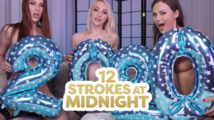 12 Strokes At Midnight 18VR Charlie Red Tina Kay Marilyn Sugar vr porn video vrporn.com virtual reality