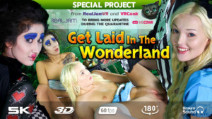 Get Laid In The Wonderland RealJamVR Darce Lee Lovita Fate vr porn video vrporn.com virtual reality