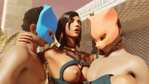 Pharah's Egyptian Vacation VRAnimeTed vr porn video vrporn.com virtual reality